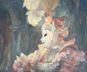 pictura masca
